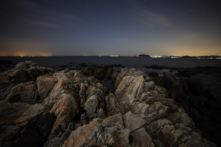 """松島突堤 CanonEOS 5Dmk2 SAMYANG14mmF2.8 iso100 14mm f2.8 111"""" B photo : toshimasa"""