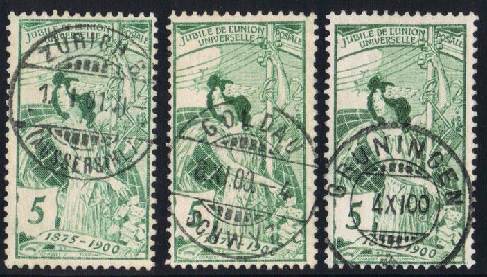 CH 77 C        Mi.Nr.: 71 III