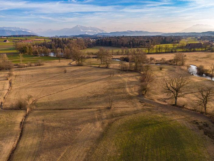 Drohne, Maschwanden, Naturpark, Lorze