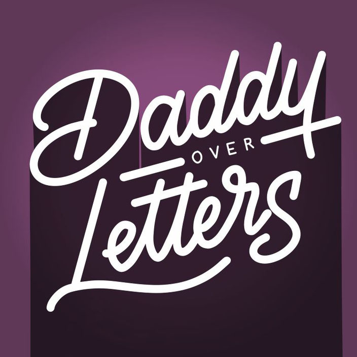 Daddy over Letters - digitales Handlettering (Lettering von alexander_flemming für die Letter Lovers)