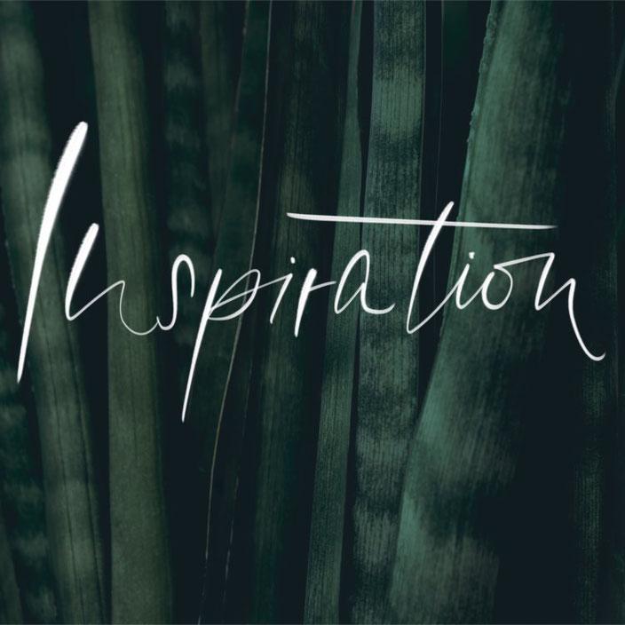 Inspiration - Brushlettering von fabletters bei den Letter Lovers