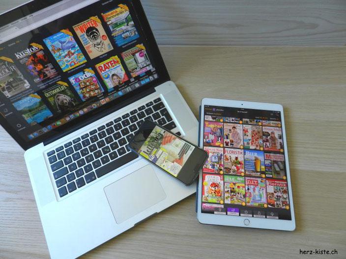 Inspiration mit Readly - dem Magazin Flatrate für alle Geräte