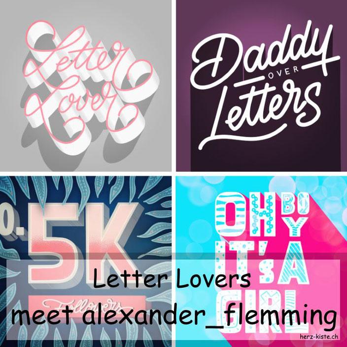 Letter Lovers: alexander_flemming zu Gast im Lettering Interview mit einer Anleitung, wie du ganz einfach Grids finden und nutzen kannst