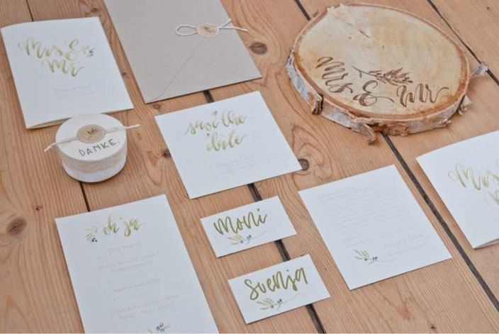 Hochzeits Lettering von clrslzmn bei den Letter Lovers
