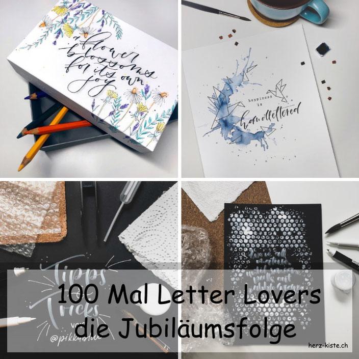 Letter Lovers - 100ste Folge Jubiläumsfolge mit Jenny von pikkablue