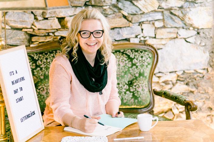 Letter Lovers - Katja von papier.liebe zu Gast in der Herzkiste im Interview über's Lettering