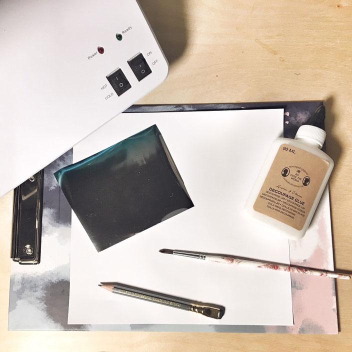 Anleitung: Folieren ohne Laserdrucker - das Material welches du dazu brauchst