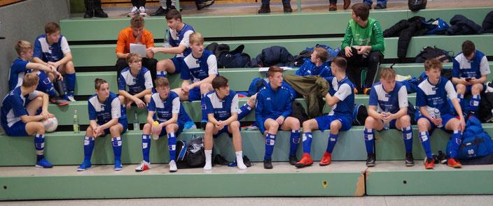 Die Jungs der U17 beim Raiba-Cup 2020