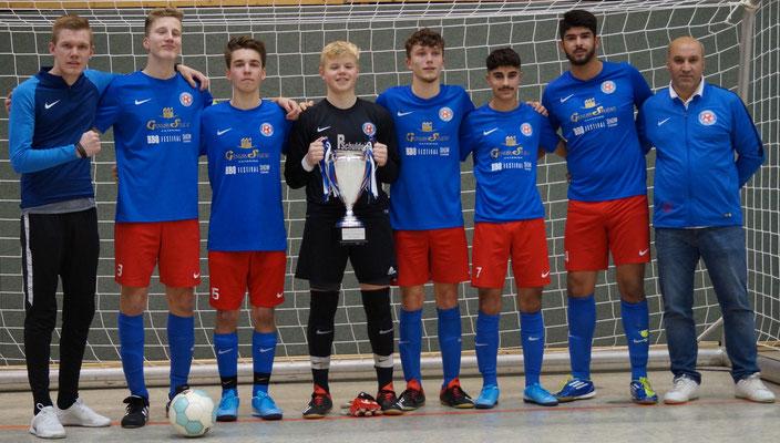 Die Sieger bei U17 Raiba-Cup 2020 JFV Verden Brunsbrock