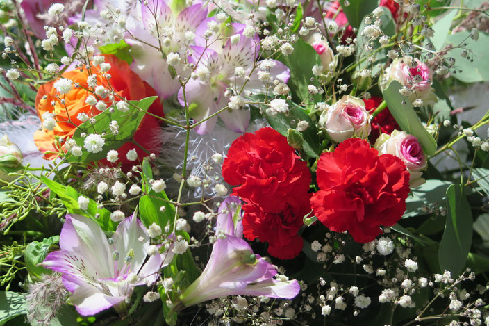 Abschiedsblumen