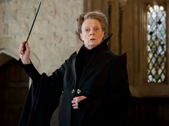 Maggie Smith in Harry Potter And The Half-Blood Prince - Harry Potter und der Halbblutprinz (UK/USA, 2009)