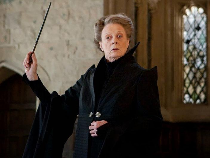 Maggie Smith in Harry Potter And The Half-Blood Prince - Harry Potter und der Halbblutprinz (UK/USA, 2009)