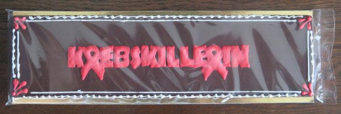 Krebskillerin-Schokolade
