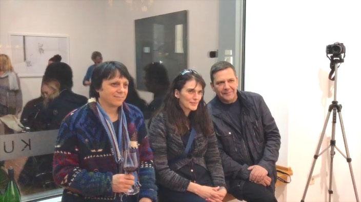 Albert Brahaj, Letitia Gaba, Robert Mohren