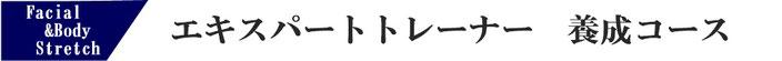 東京・大阪ストレッチトレーナー資格