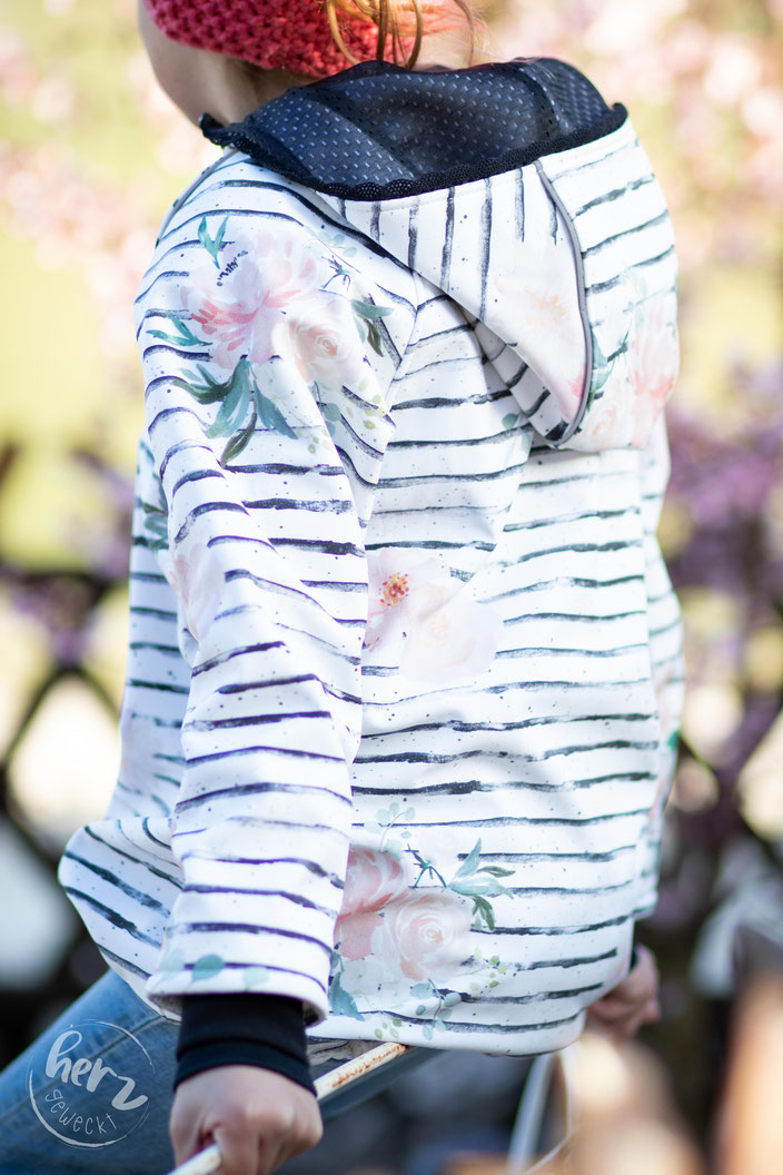 Softshelljacke Flowerlove - Cozy von Kullaloo
