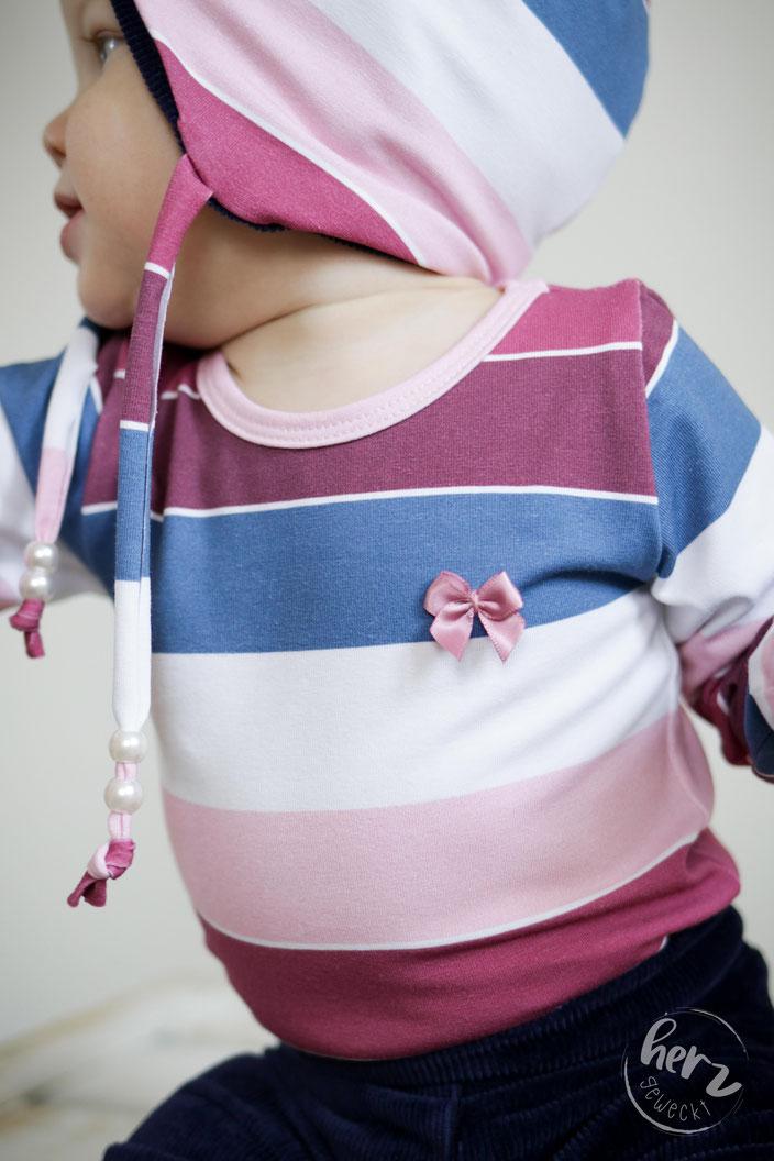 Babybody und Babymütze Möhrchen