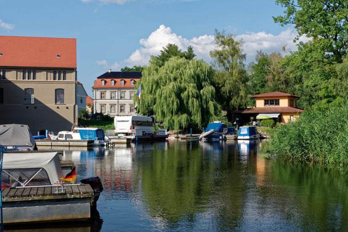 Bootshafen Neustadt-Glewe an der Elde