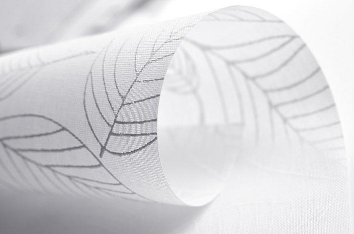 Рулонная ткань Блюз, белый