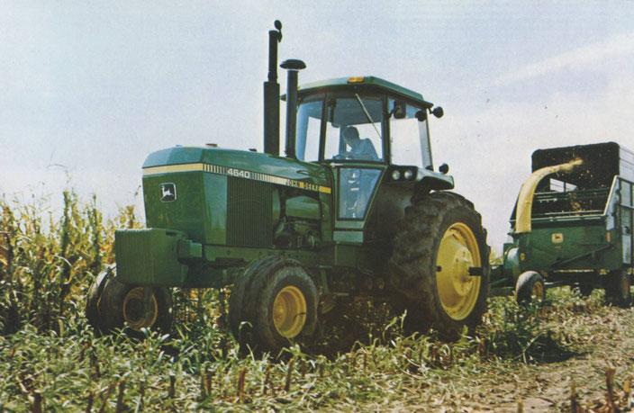 John Deere 4640 Großtraktor mit SG2 Kabine