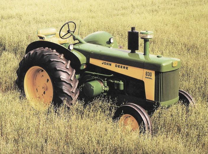 John Deere 830 Traktor