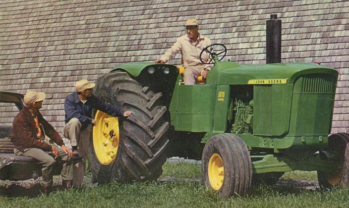 John Deere 5010 Großtraktor