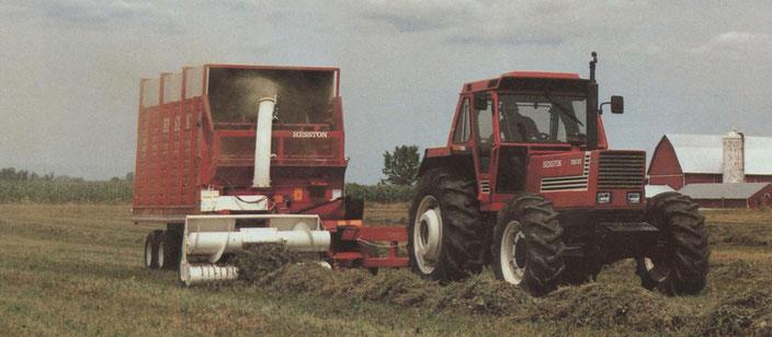 Fiatagri Hesston Traktor