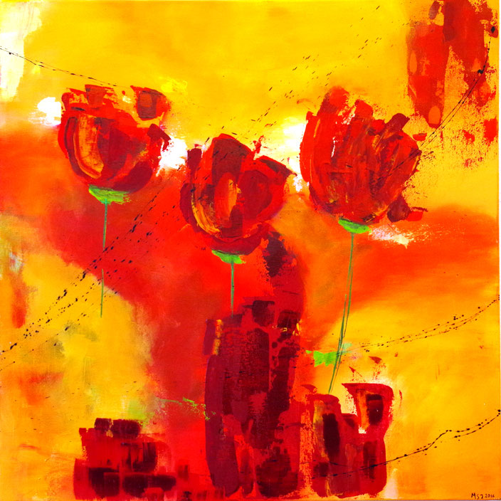 Malerei in Acryl
