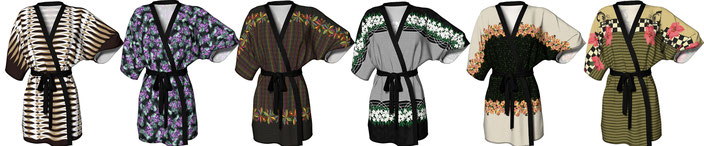 Click on kimono to enter the storefront of Art of Where in Canada & the USA