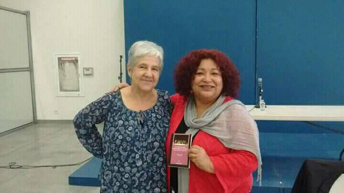 Bertha Iriart y Virginia Hernández Tijuana 2018