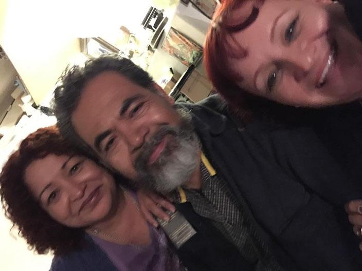 VIRGINIA HERNÁNDEZ, FERNANDO RODRÍGUEZ Y LAURA CASTANEDO