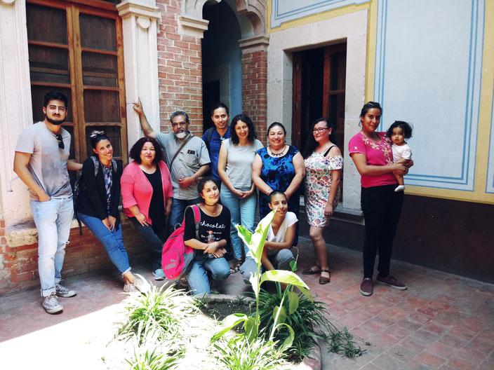 Talleristas de dramaturgia de lo inmediato en Aguascalientes: Junio de 2019