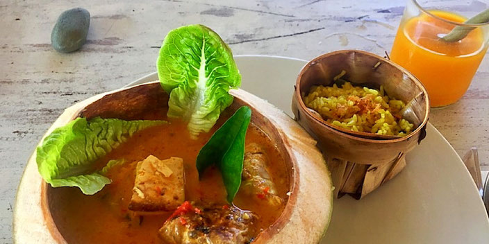 vegan tempeh curry