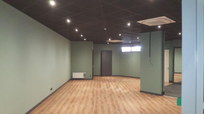 Fitness zaal voor nieuwste locatie voor Fysio therapy Rijnmond