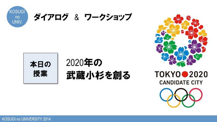 2020年の武蔵小杉を創る