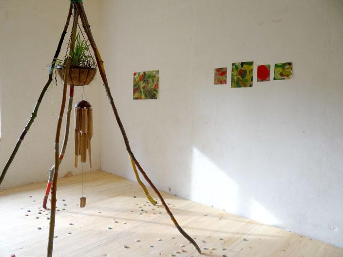 Claire Ebendinger NOVOPO Artist Residency - Künstlerhaus Mecklenburg-Vorpommern