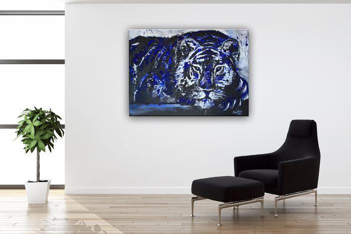 Wohnbeispiel Chillender Tiger