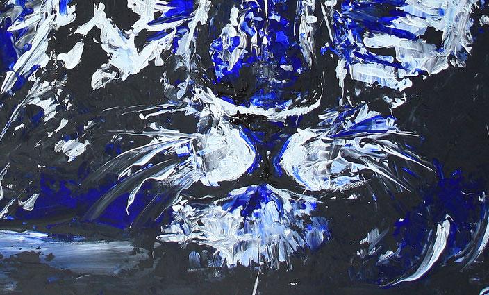 Bildausschnitt - Chillender Tiger