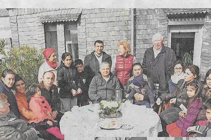 Bei den Wintricher Flüchtlingshelfern vom Bündnis für Menschlichkeit und Zivilcourage geht es oft zu wie bei einer Großfamilie.