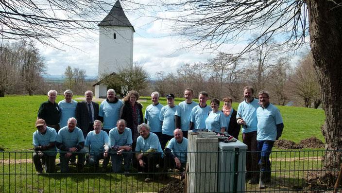 Strom und Wasser für den  Swister Turm - RWE vor Ort - Frühjahresaktion