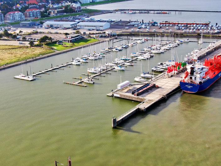 Hafeneinfahrt der SVC
