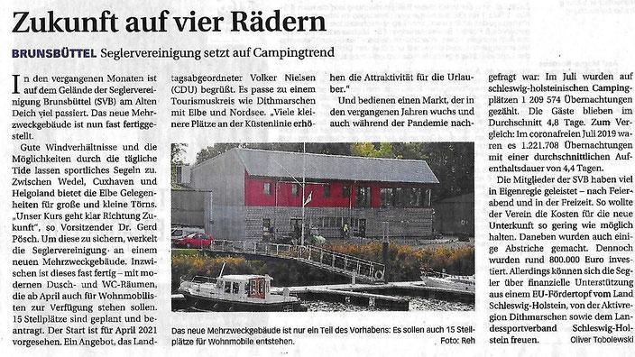 Quelle: Brunsbütteler Zeitung vom 28.10.2020