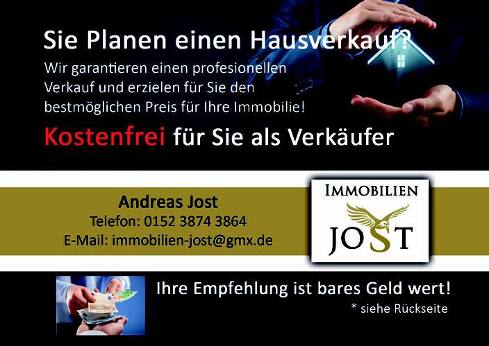Hauserkauf Flyer Provisionsfrei für Verkäufer