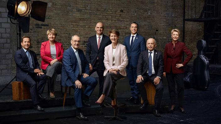 Bundesratsfoto 2020