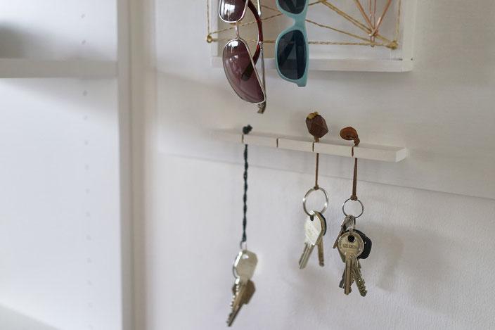 DIY Organizer, key board, key board, Schlüsselbrett, Briefablage