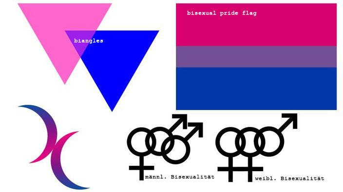 Bisexuelle Symbole
