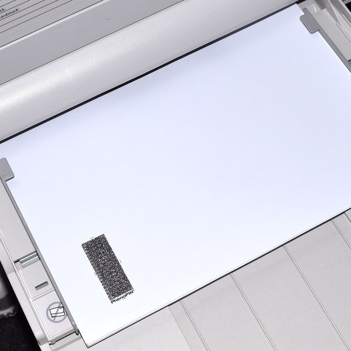 PIN Mailer for laser printers