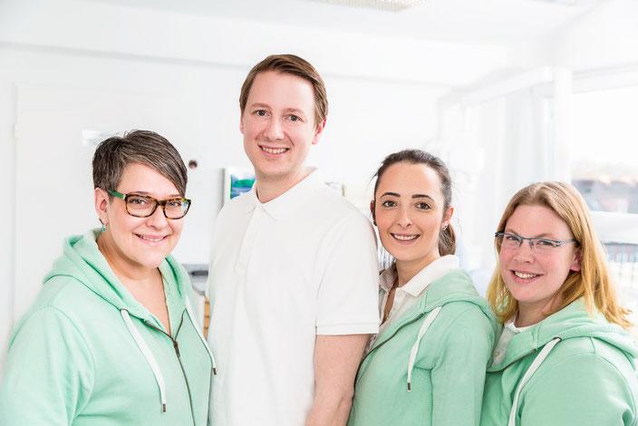 Zahnarzt Altona Dr. Michaelis Team Behandlung Mitarbeiter Praxis