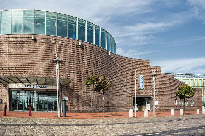Veranstaltungen in Bremerhaven - wo könnt ihr euch informieren? Bild Stadthalle Bremerhaven: Marlies Menger