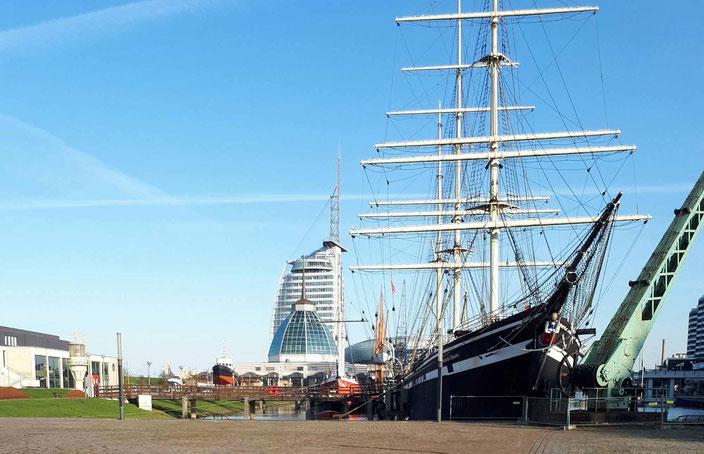 Seute Deern in Bremerhaven, Foto: Andre Kleinhanns